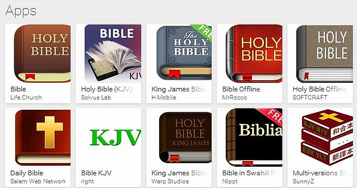 The Best 5 Bible Apps for Android