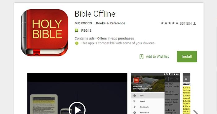 OFFLINE-bible-app